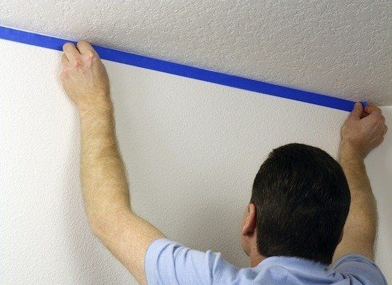 The Only 7 Tools You Need To Paint Any Room Painters Tape Wall Painting Techniques Peeling Wall