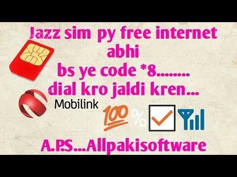 Jazz Sim Free Internet For 3 Days 2018 Youtube Coding Apps Jazz Free Internet Free