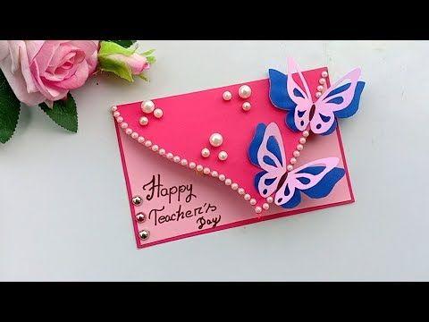 Diy Teacher S Day Card Handmade Teachers Day Card Making Idea Youtube Happy Teachers Day Card Teachers Diy Teachers Day Card
