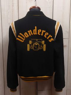 Late 1950's Wanderers Car Club Jacket | WARMTH | Pinterest | Cars