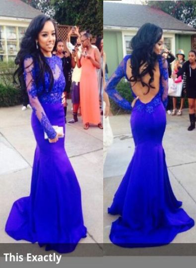 U back prom dresses xl