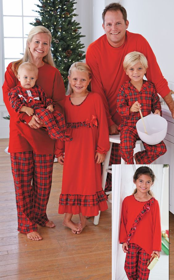 Family Pajamas Holiday Stripe Pajama Sets, Created for Macy's Score a matching pajama set that can also be customized thanks to iron-on letters, which are on sale for $4.