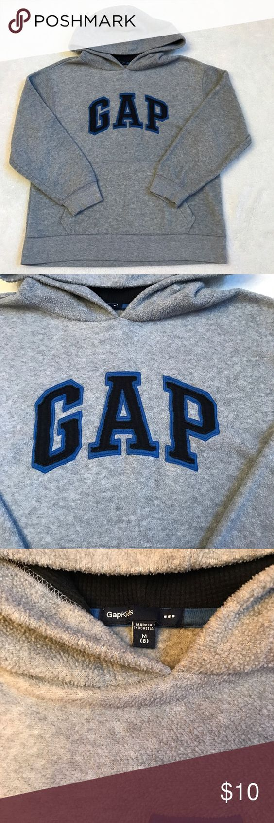 Boys fleece gap hoodie Excellent condition GAP Shirts & Tops Sweatshirts & Hoodies