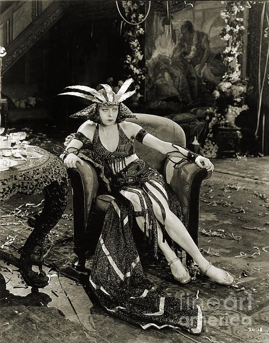 A rare image from a lost Hollywood silent film, The Woman God Changed (1921), starring Seena Owen.