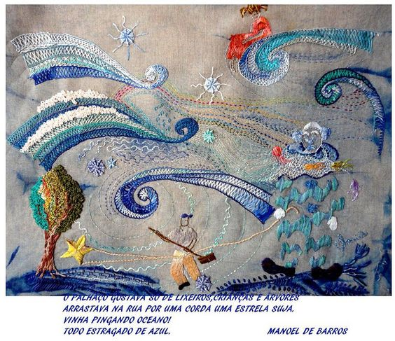 O PALHAÇO   -     MANOEL DE BARROS by Sonia Bianco Artes®, via Flickr