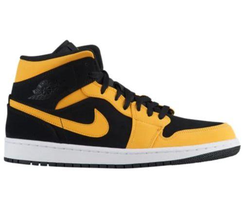 yellow retro jordans