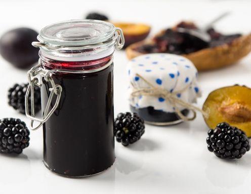 Brombeer-Zwetschken-Marmelade