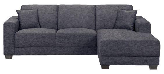 Canapé d'angle Aberdeen droite 499 leenbakker