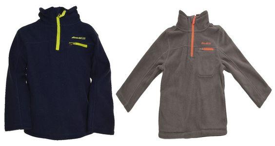 Eddie Bauer Boys 1/4 Zip Fleece Jacket 5 7 Long Sleeve Pullover Sweater Coat NEW #EddieBauer #DressyEverydayHoliday