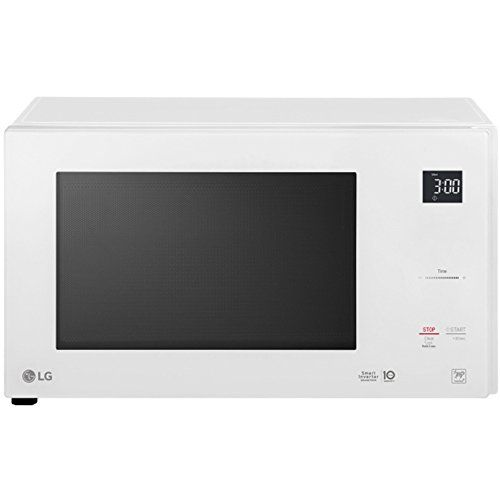 Lg Neochef 1 5 Cu Ft Countertop Microwave In Smooth White Countertop Microwave Countertop Microwave Oven Microwave