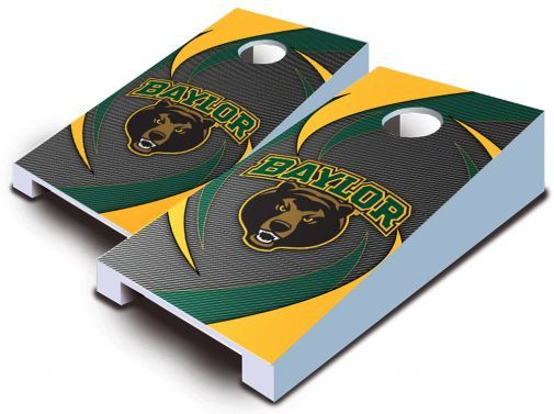 Baylor Bears mini desktop cornhole toss set
