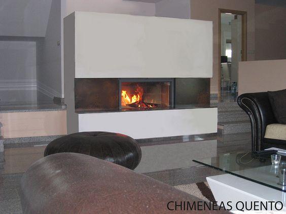 Chimenea quento vilar con stuv 21 105 by chimeneasquento - Chimeneas quento ...