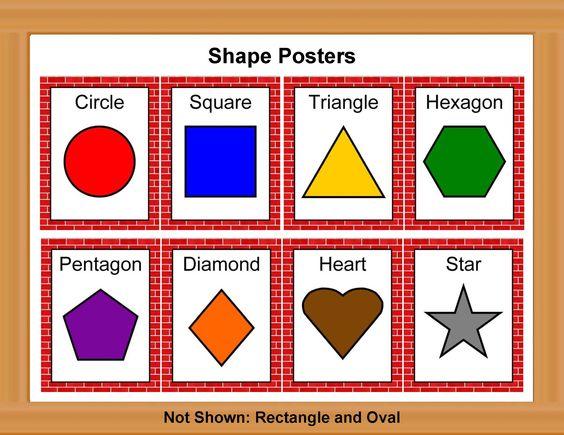 Printable Color Poster For Preschool