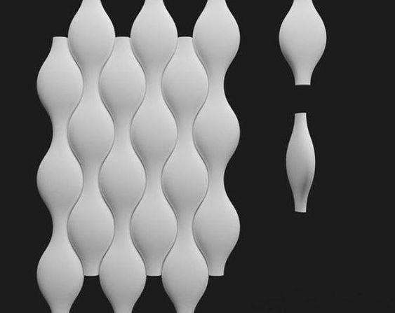 Plastic Mold For 3d Decor Wall Panels 11 For Plaster Etsy Paneles De Pared Paneles De Pared 3d Decoracion De Pared 3d