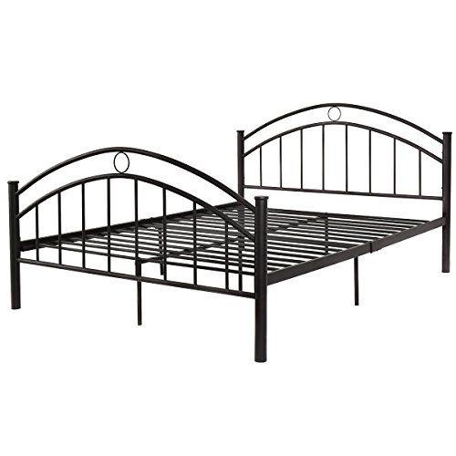 Enjoyshop 84 With Images Queen Size Bed Frames Steel Bed