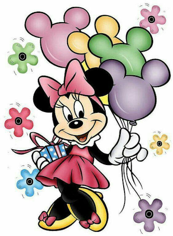 Tarjeta de cumpleaños con minnie mouse FELIZ CUMPLEA u00d1OS TARGETAS Pinterest Minnie mouse