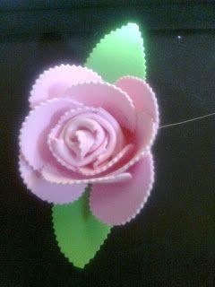 Moldes das Flores de EVA