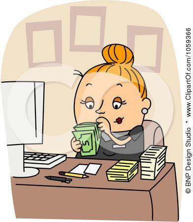 Bookkeeper Clip Art