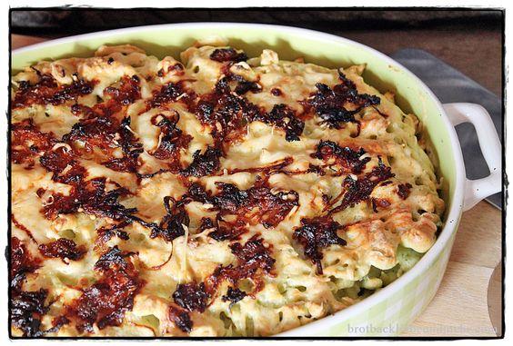 brotbackliebeundmehr - Foodblog - Bärlauch-Käse-Spätzle