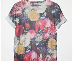 Painted Floral Tee | Last But Won