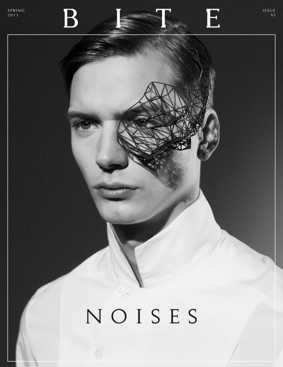 Cover Model: Linus Gustin |Elite Models| Grooming: Mila Fuentes  Stylist: Ignazio Arizmendi Art Direction: Nicolas Santos Photo Assisting: Simona Borboleta Photographer: Markus Rico  Magazine: Bite Issue: #06 Spring 2013 |Noises| Website: bite-zine.com