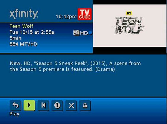 MTV LEFT A SURPRISE EXTENDED PREVIEW FOR TEENWOLF ON MY DVR