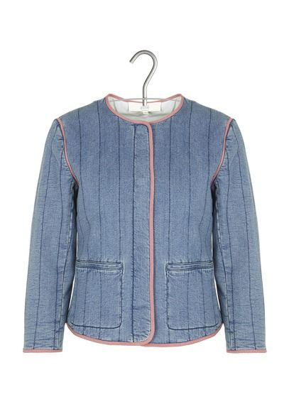 Discover this Athe-vanessa Bruno Quilted Jacket Blue from our Athe-vanessa Bruno range. Order online today from Place des Tendances. Delivery available.