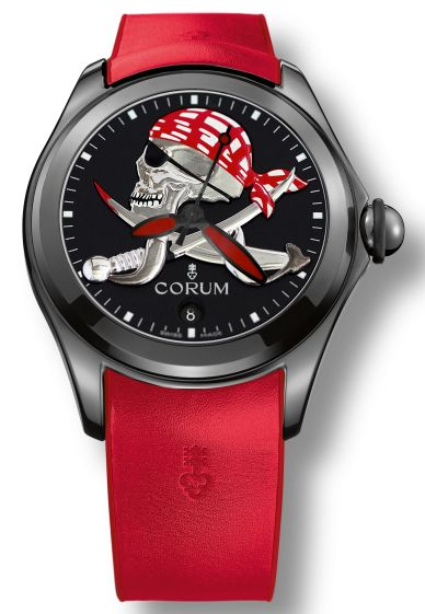Corum Bubble 47 Pirate Halloween Edition