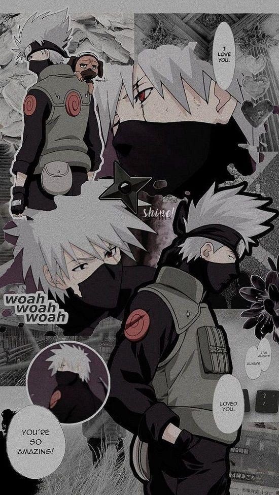 Gambar Kakashi Naruto Wallpaper Iphone Wallpaper Anime Kakashi Hatake
