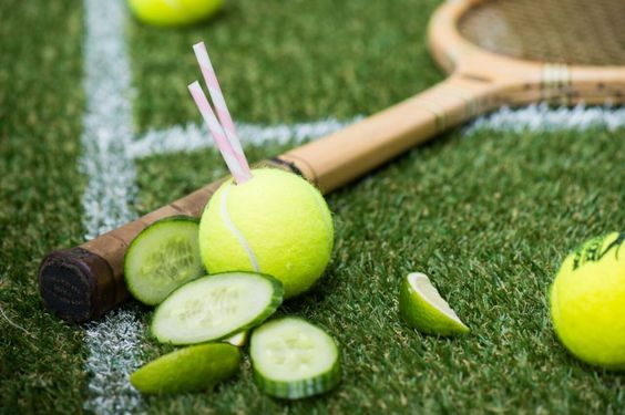 It's game, set and splash with five smashing cocktails to sup courtside. Ace! #wimbledon #tennis #pimms #summer