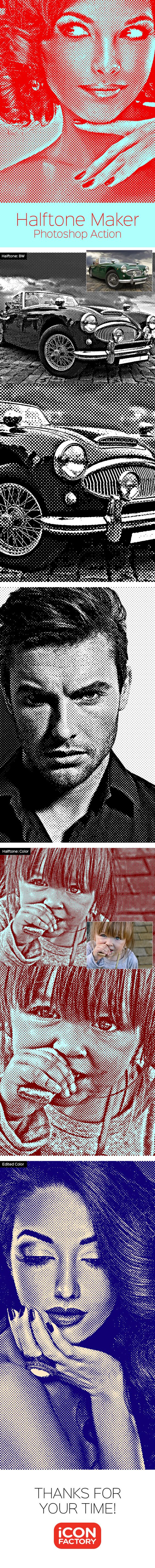 Halftone Maker - Photoshop Action #photoeffects #actions Download: http://graphicriver.net/item/-halftone-maker-photoshop-action/9612903?ref=ksioks