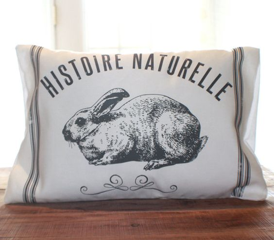 Spring Hop Pillow by CCurate on Etsy