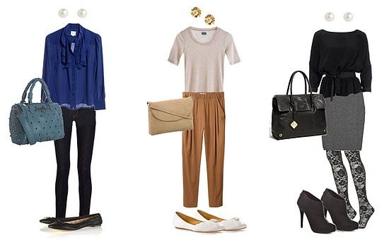 Monochromatic Colored Outfits