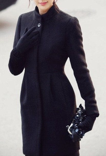 black winter coat women - photo #44