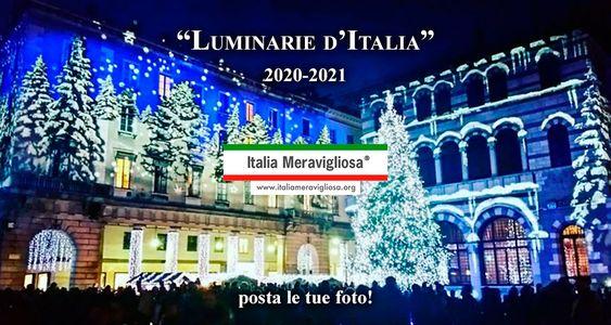Luminarie Italia 2020