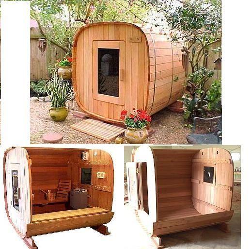 Sauna de madera tinas calientes hot tubs saunas - Madera para sauna ...