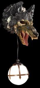 Zombie Wolf Lamp - Wild Rage