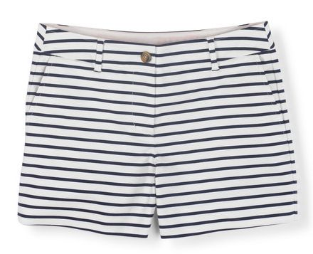 Cute striped bistro shorts