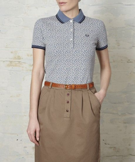 Fred Perry - Floral Print Fred Perry Shirt