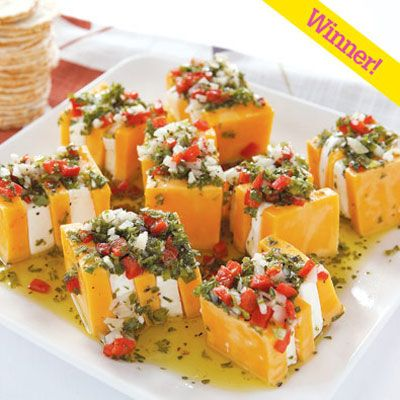 Marinated cheese appetizers and summer recipes on pinterest for No cook appetizers for thanksgiving