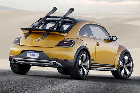 Volkswagen presenta el Beetle Dune con aspecto offroad