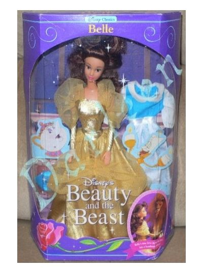 Beauty and the beast dolls 1991...what a memorie