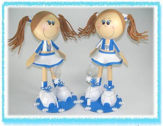Bonecas 3D Avaí