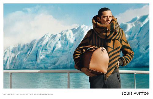 Client: Louis Vuitton / Ogilvy Art Direction: Magnus Naddermier Campaign Louis Vuitton men AW 2012 photographed by Alasdair McLellan