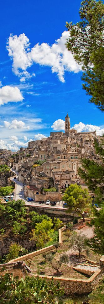 #Matera, #Basilicata, #Italy.  http://reversehomesickness.com/europe/pisa-florence-rome-in-italy/: