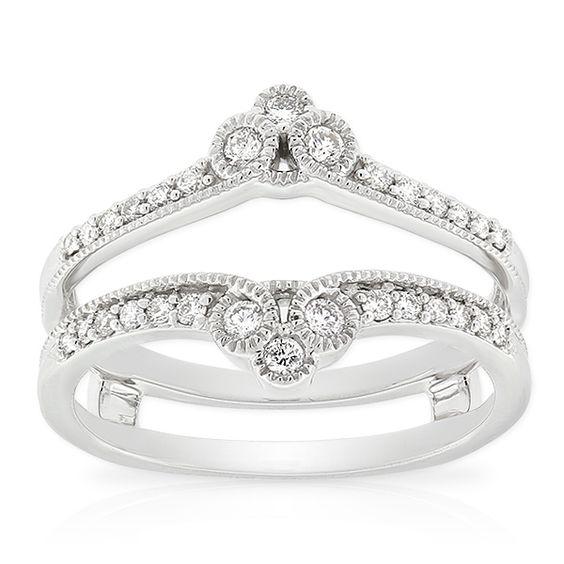 insert ring 14k from ben bridge jewelers looks