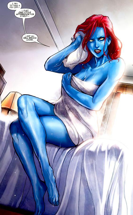 Not Naked mrs marvel variant