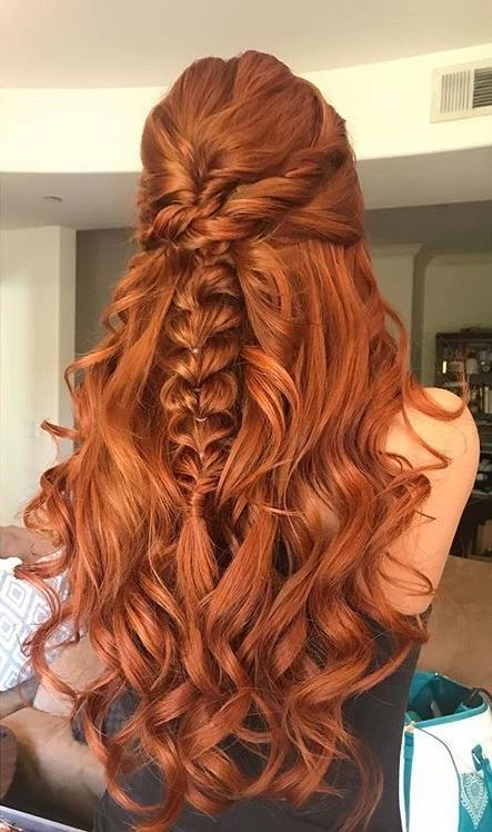 Image In Hairstyle Collection By Tannia01 On We Heart It In 2020 Ginger Hair Color Hair Styles Ginger Hair
