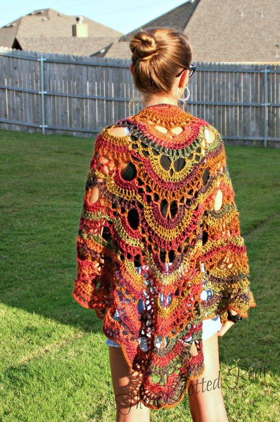 Crochet virus shawl using Red Heart Boutique yarn #virusshawl