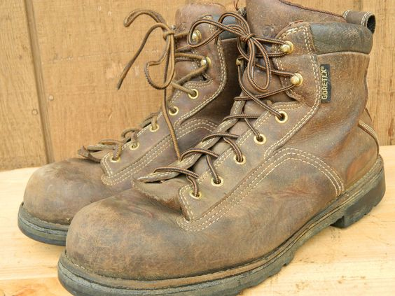 Details about 1990's Brown Leather Boots By Danner Men's Size 10 ...